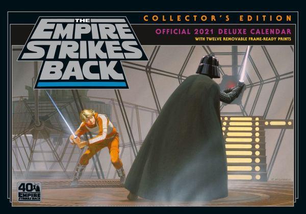 Star Wars Classic Deluxe A3 Calendar / Naptár 2021 English Version*