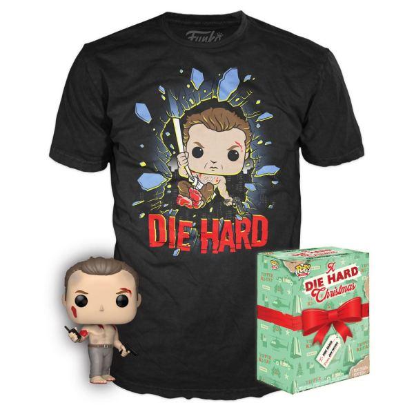 Die Hard Funko POP! & Tee Box John McClane