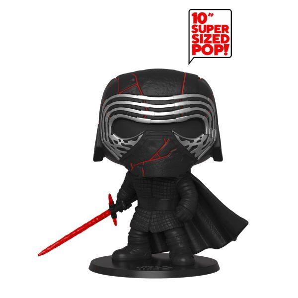 x_fk47246 Star Wars Episode IX Super Sized Funko POP! Vinyl Figura - Kx_fk47246 Star Wars Episode IX Super Sized Funko POP! Vinyl Figura - Kylo Ren GITD 25 cmylo Ren GITD 25 cm