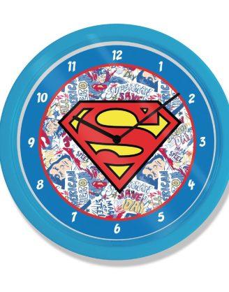 Superman Wall Clock Logo -gp85451