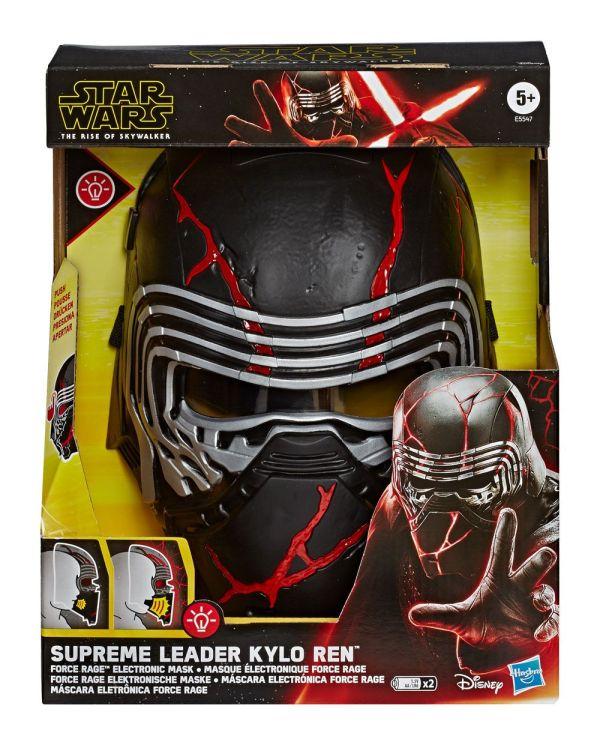 x_hase5547 Star Wars Episode IX Force Rage Electronic / Elektronikus Maszk Supreme Leader Kylo Ren