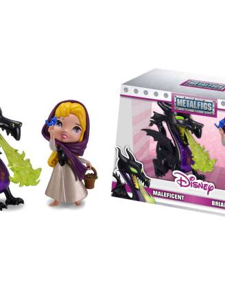 x_jada98253 Disney Metalfigs Diecast Mini Figura 2-Pack Maleficent & Briar Rose 10 cm