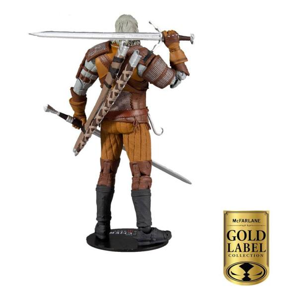 The Witcher Action Figure Geralt of Rivia Gold Label Series 18 cm - mcf13403