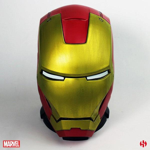 Marvel Comics Iron Man Persely - MKIII Helmet 25 cm