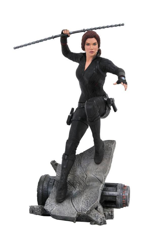 Avengers: Endgame Marvel Movie Premier Collection Szobor - Black Widow 26 cm