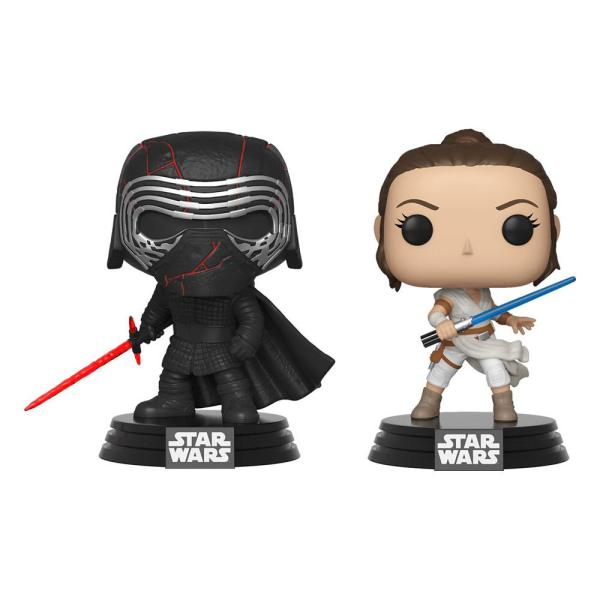 x_fk45035 Star Wars Rise of Skywalker Funko POP! Figura 2-Pack - Kylo & Rey 9 cm