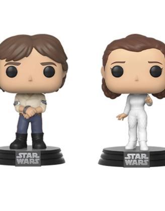 Star Wars Funko POP! Movies Vinyl Figura 2-Pack - Han & Leila Empire Strikes Back 40th Anniversary 9 cm