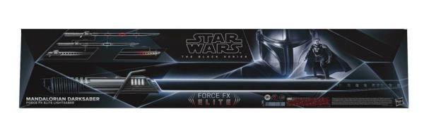 Star Wars The Mandalorian Black Series Replica 1/1 Force FX Elite Lightsaber Mandalorian Darksaber - hasf1269
