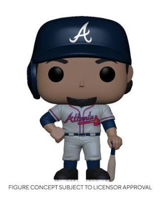MLB POP! Sports Vinyl Figure Braves - Ozzie Albies (Road Uniform) 9 cm - fk54640