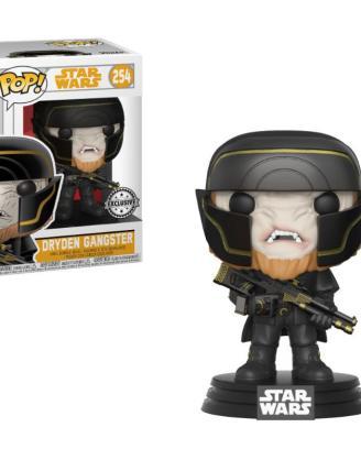 x_fk26987 Star Wars Solo Funko POP! Movies Vinyl Bobble-Head Figura - Dryden Henchman 9 cm