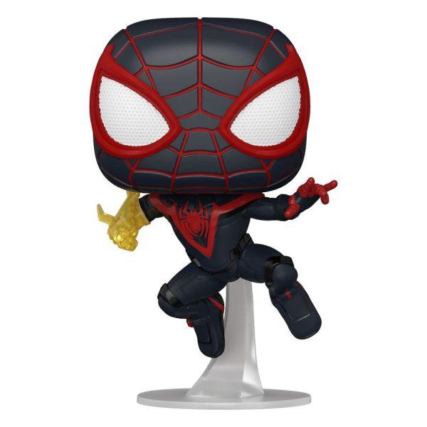 Marvel's Spider-Man POP! Games Vinyl Figures Miles Morales Classic Suit 9 cm