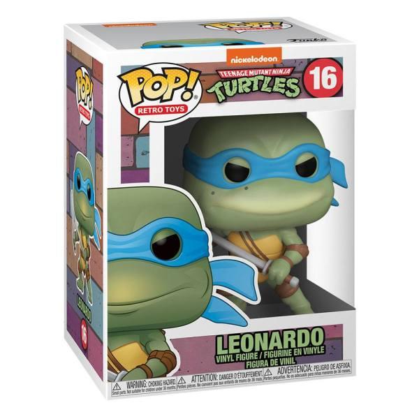 x_fk51435 Teenage Mutant Ninja Turtles Funko POP! TV Vinyl Figura - Leonardo 9 cm