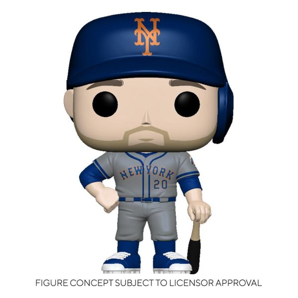 MLB POP! Sports Vinyl Figure Mets - Pete Alonso (Road Uniform) 9 cm - fk54647