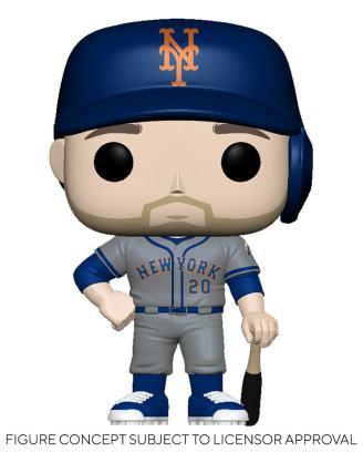 MLB POP! Sports Vinyl Figure Mets - Pete Alonso (Road Uniform) 9 cm - fk54647