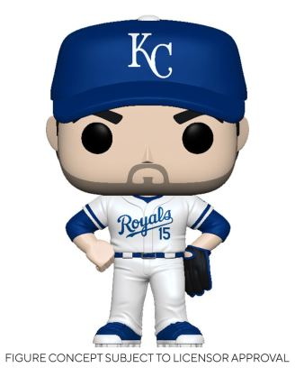 MLB POP! Sports Vinyl Figure Royals - Whit Merrifield (Home Uniform) 9 cm