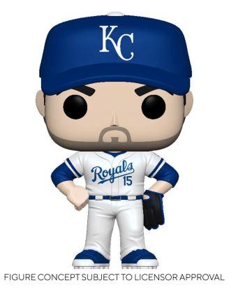 MLB POP! Sports Vinyl Figure Royals - Whit Merrifield (Home Uniform) 9 cm