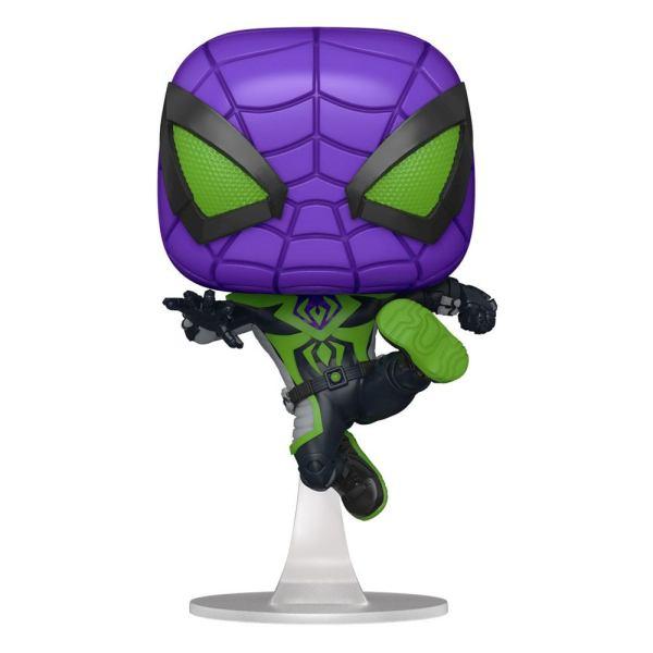 Marvel's Spider-Man POP! Games Vinyl Figure Miles Morales Purple Suit 9 cm - fk54695