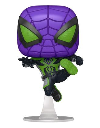 Marvel's Spider-Man POP! Games Vinyl Figure Miles Morales Purple Suit 9 cm - fk54695