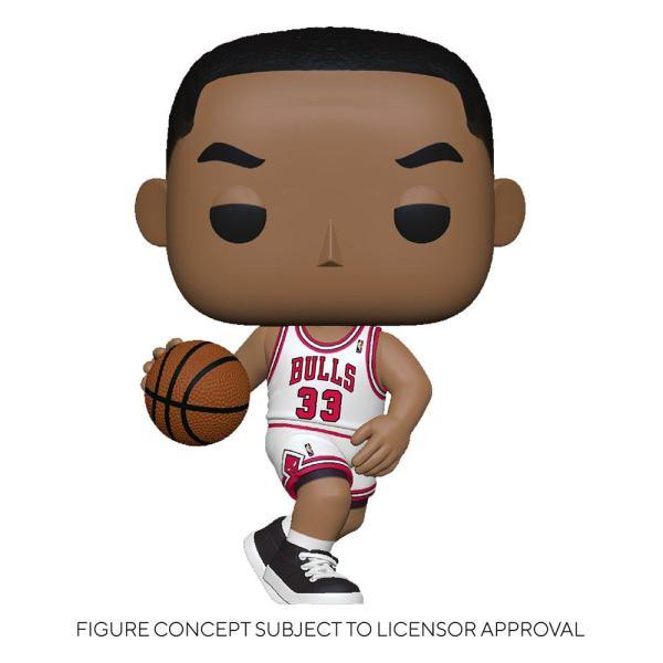 NBA Legends POP! Sports Vinyl Figure Scottie Pippen (Bulls Home) 9 cm - fk55221