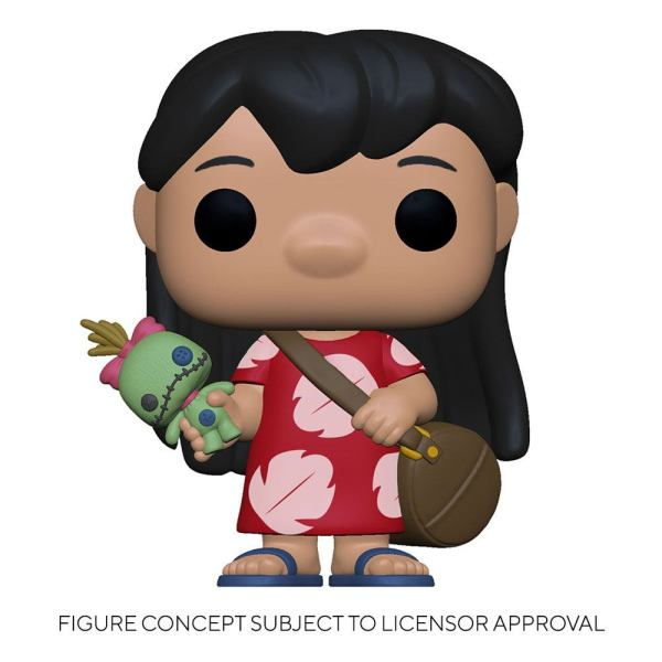 Lilo & Stitch POP! Disney Vinyl Figure Lilo w/Scrump 9 cm-fk55614