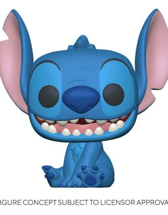 Lilo & Stitch Super Sized Jumbo POP! Games Vinyl Figure Stitch 25 cm-fk55618