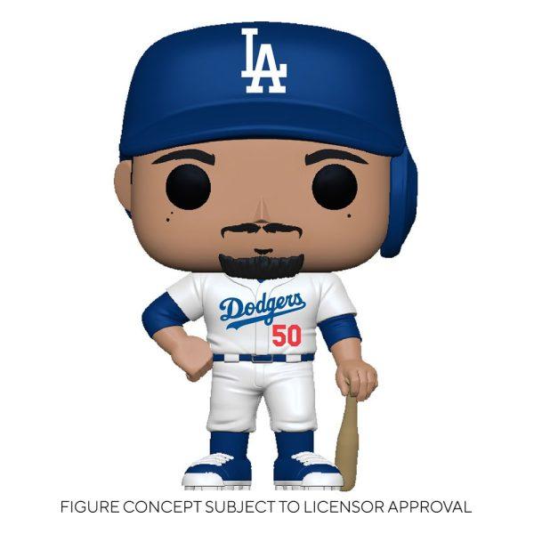 MLB POP! Sports Vinyl Figure Dodgers - Mookie Betts (Home Uniform) 9 cm - fk55693