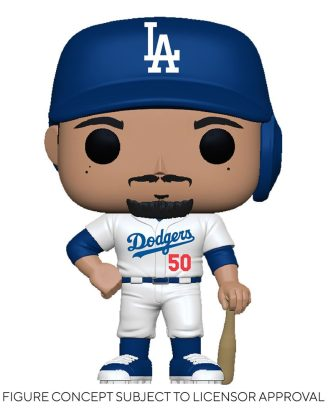 MLB POP! Sports Vinyl Figure Dodgers - Mookie Betts (Home Uniform) 9 cm - fk55693