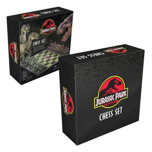 x_nob2421 Jurassic Park Chess Set / sakk készlet - Dinosaurs
