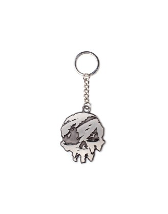 Sea Of Thieves - Skull Metal Keychain / kulcstartó