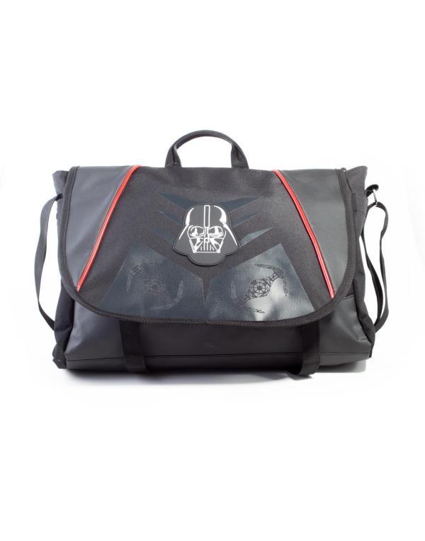 mb626482stw_02_3 Star Wars - Star Wars Classic Darth Vader Messenger Bag