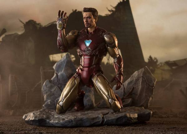 Avengers: Endgame S.H. Figuarts Akciófigura - Iron Man Mk-85 (I Am Iron Man Edition) 16 cm