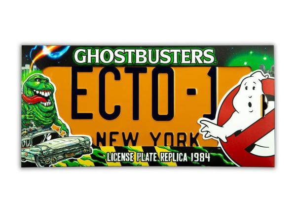 Ghostbusters Replica 1/1 ECTO-1 License Plate / Rendszámtábla