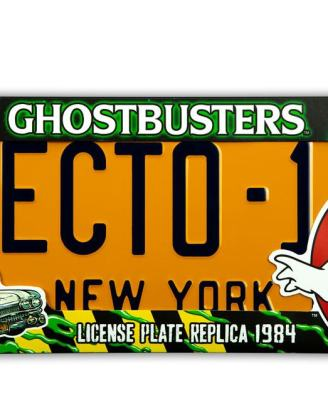 Ghostbusters Replica 1/1 ECTO-1 License Plate / Rendszámtábla