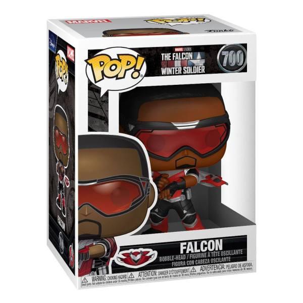 x_fk51624 The Falcon and the Winter Soldier Funko POP! Marvel Vinyl Figura - Falcon 9 cm