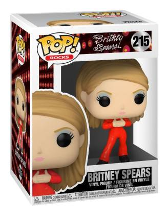 Britney Spears POP! Rocks Vinyl Figure Catsuit Britney 9 cm-_fk52034