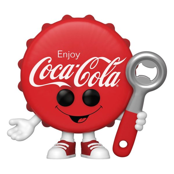 Coca-Cola Funko POP! Ad Icons Figura - Coca-Cola Bottle Cap 9 cm