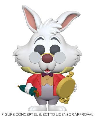 Alice in Wonderland POP! Disney Vinyl Figure White Rabbit w/Watch 9 cm-fk55739