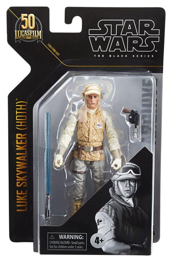 x_hasf09615l00_m Star Wars Black Series Archive Akciófigura - 2021 50th Anniversary Wave 1 - Luke Skywalker (Hoth) (Episode V)