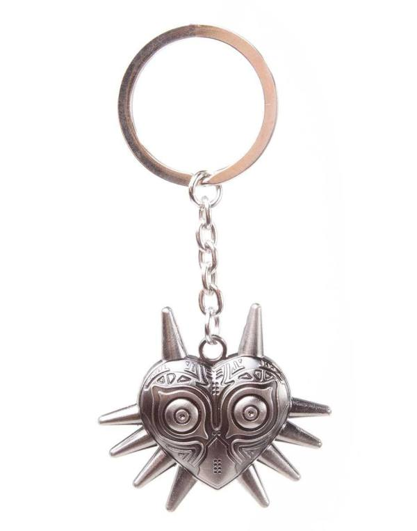 The Legend of Zelda Metal Keychain / kulcstartó - Zelda Majora's Mask