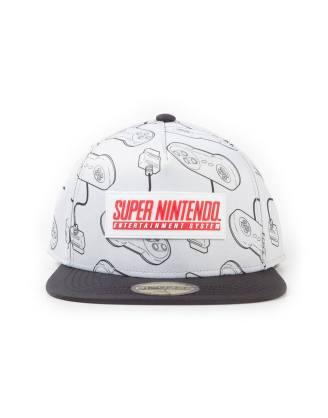 x_sb331833ntn Nintendo Snapback Cap / sapka SNES