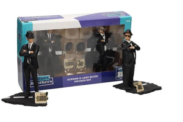 x_sdtuni89074 Blues Brothers Movie Icons Szobor - 2-Pack Jake & Elwood 18 cm