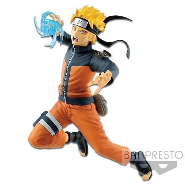 Naruto Shippuden Vibration Stars Figura - Uzumaki Naruto 17 cm V2