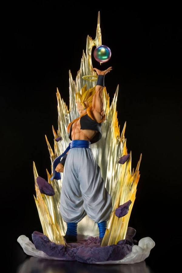 x_btn60858-1 Dragon Ball Z Fusion Reborn FiguartsZERO PVC Szobor - Super Saiyan Gogeta 28 cm