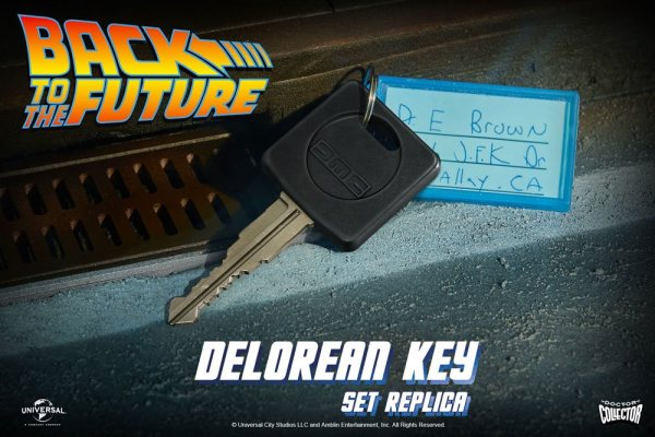 x_doco-95154_a Back To The Future Replica 1/1 DeLorean Key