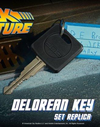 x_doco-95154_a Back To The Future Replica 1/1 DeLorean Key