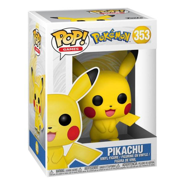 x_fk31528 Pokemon Funko POP! Games Vinyl Figura - Pikachu 9 cm