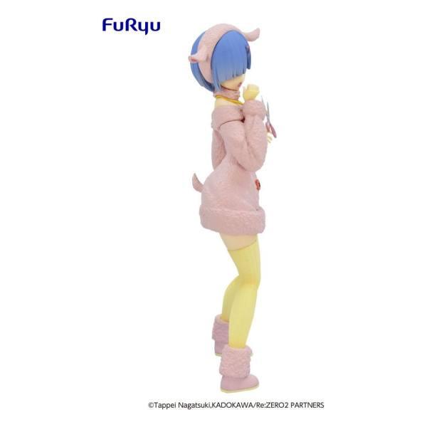 Re:ZERO SSS PVC Statue Rem The Wolf and the Seven Kids Pastel Color Ver. 21 cm_fryu95446