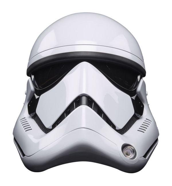 Star Wars Episode VIII Black Series Electronic Helmet First Order Stormtrooperhasf0012