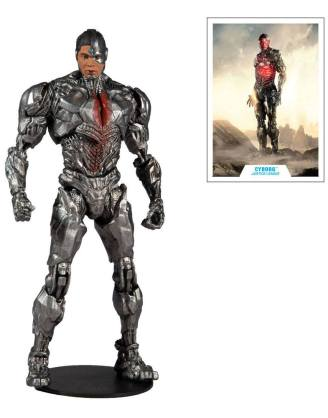 DC Justice League Movie Action Figure Cyborg 18 cm_mcf15093-3
