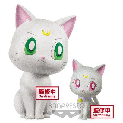 Sailor Moon Eternal The Movie Fluffy Puffy Mini Figurák - Artemis & Diana 4 - 7 cm